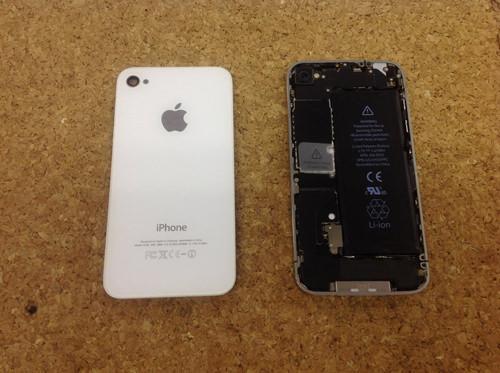 iphone4 カメラ交換方法2