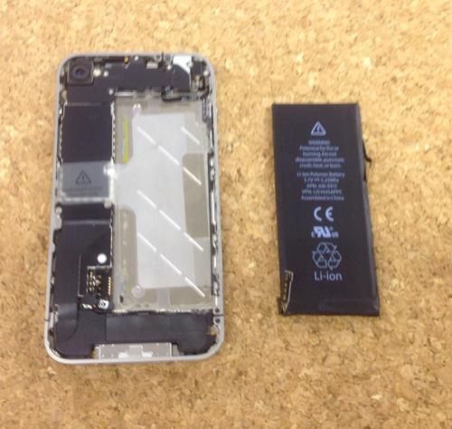 iphone4 バッテリー交換方法8