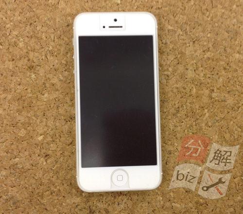 iphone5 液晶ガラス、パネル交換方法1