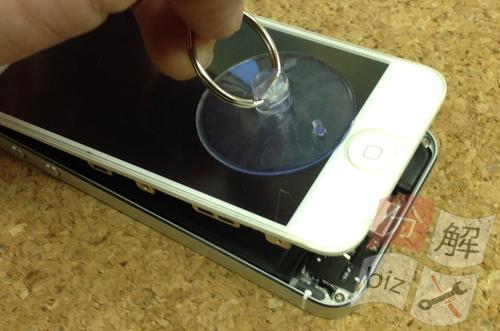 iphone5 液晶ガラス、パネル交換方法5