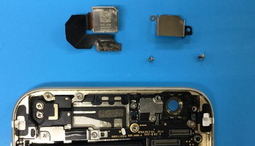 iphone6 カメラ分解方法9