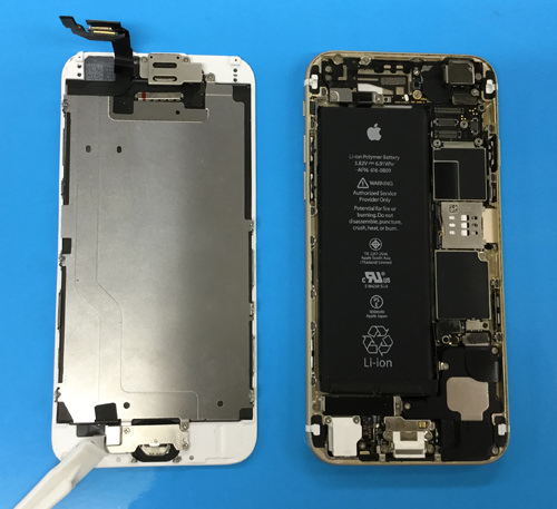 iphone6 分解方法1