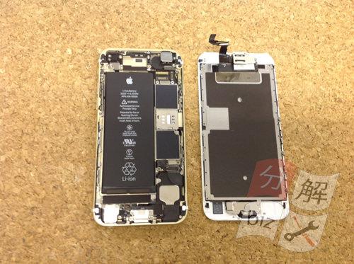 iphone6s リアカメラ交換分解方法3
