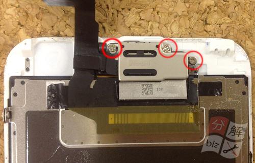 iphone6 液晶ガラス、パネル分解方法14