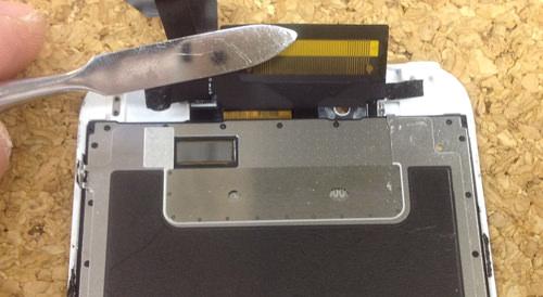 iphone6 液晶ガラス、パネル分解方法24