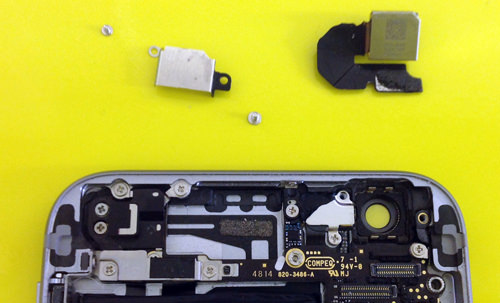 iphone6 Rear camera replacement decomposition method 5