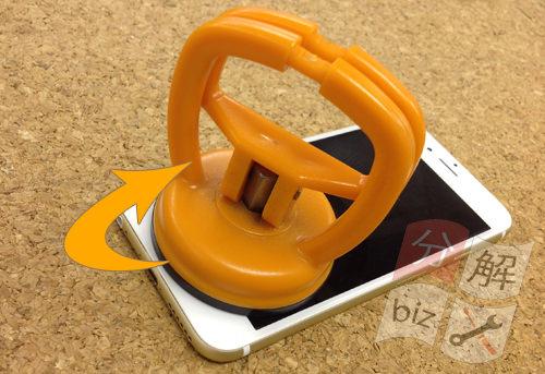iphone6s 液晶ガラス、パネル分解方法3