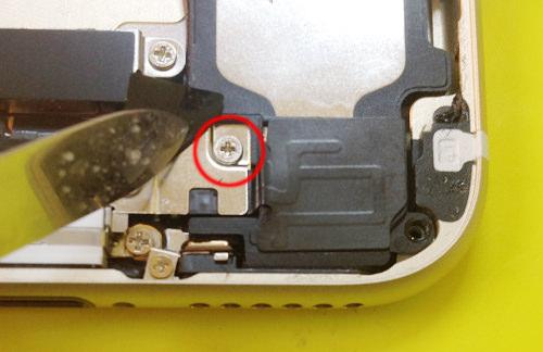 iphone6s ラウドスピーカー分解方法5