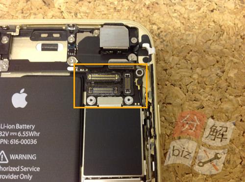 iphone6s 液晶ガラス、パネル分解方法9