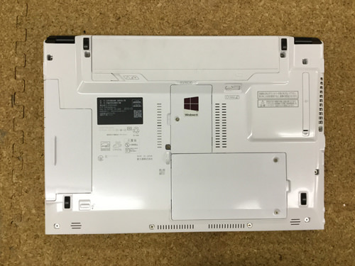 SH54/K ハードディスク交換1