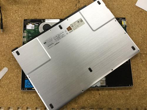 LX850/J 液晶修理 3