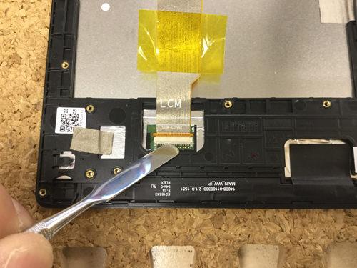 Z380KL 液晶修理 9