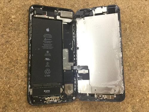 iPhone7Plus バッテリー交10