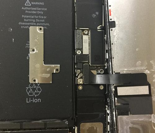 iPhone7Plus バッテリー交12