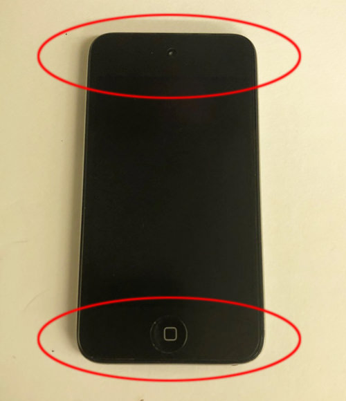 iPod touch 第4世代 液晶交換 1