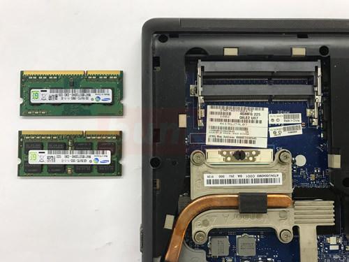 E530 メモリ交換