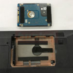 FRONTIER FRNX520/D ハードディスク交換
