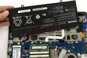 R634/K バッテリー交換