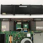 UX310U バッテリー交換