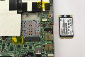 Lavie Z SSD交換