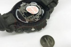 G-SHOCK バッテリー交換