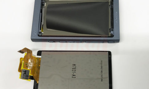NW-A45 液晶交換