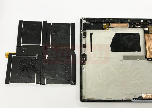 surface pro 3 バッテリー交換