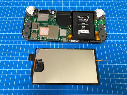 Nintendo Switch Lite 液晶交換、分解修理方法 - 分解.biz